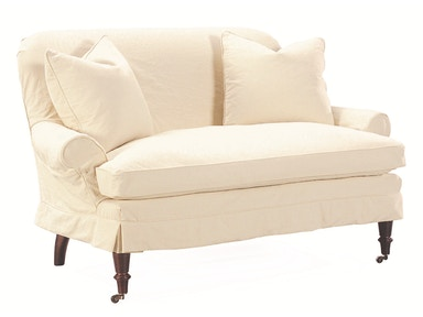 Lee Industries Slipcovered Loveseat C1006-02