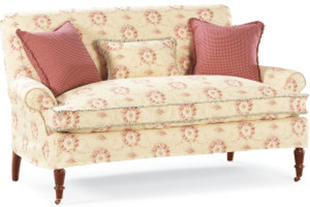 Amazing Lee Industries Living Room Slipcovered Loveseat C1009 02 Forskolin Free Trial Chair Design Images Forskolin Free Trialorg
