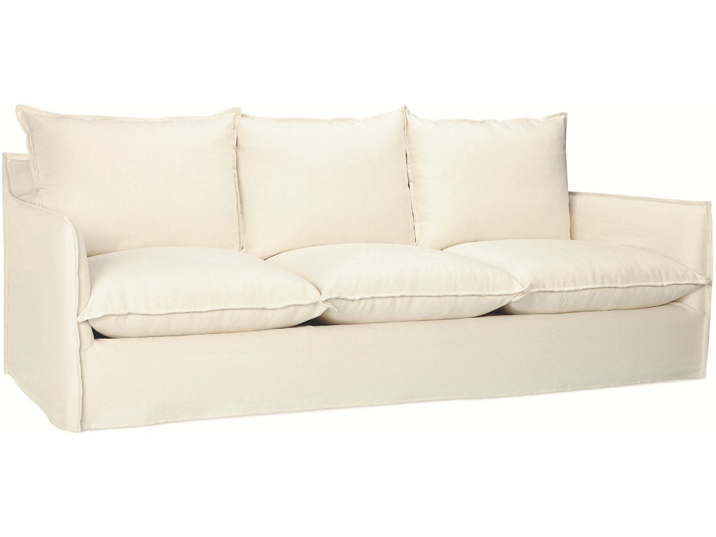 Lee Industries Living Room Slipcovered Sofa C1297 03 R W Design Exchange Cumming Ga And