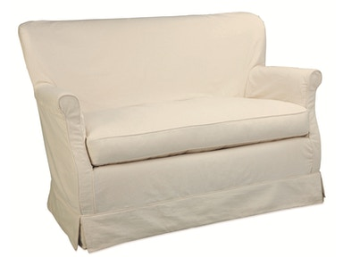 Lee Industries Slipcovered Loveseat C1347-02
