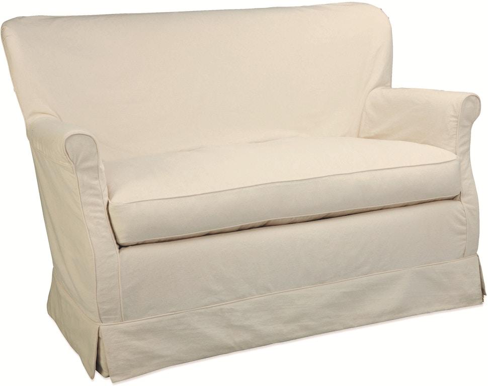 Stupendous Lee Industries Living Room Slipcovered Loveseat C1347 02 Forskolin Free Trial Chair Design Images Forskolin Free Trialorg