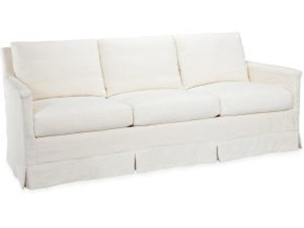 Lee Industries Living Room Slipcovered Sofa C1935 03