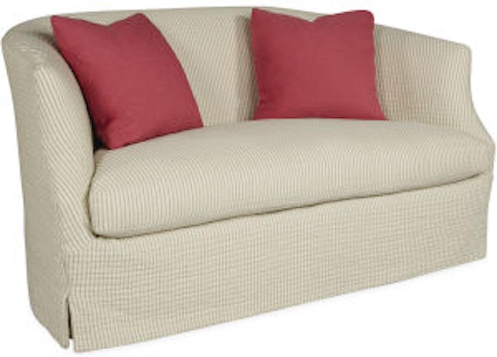 Outstanding Lee Industries Living Room Slipcovered Loveseat C3009 02 Forskolin Free Trial Chair Design Images Forskolin Free Trialorg
