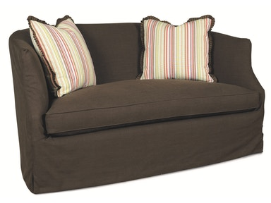 Lee Industries Slipcovered Loveseat C3009-02