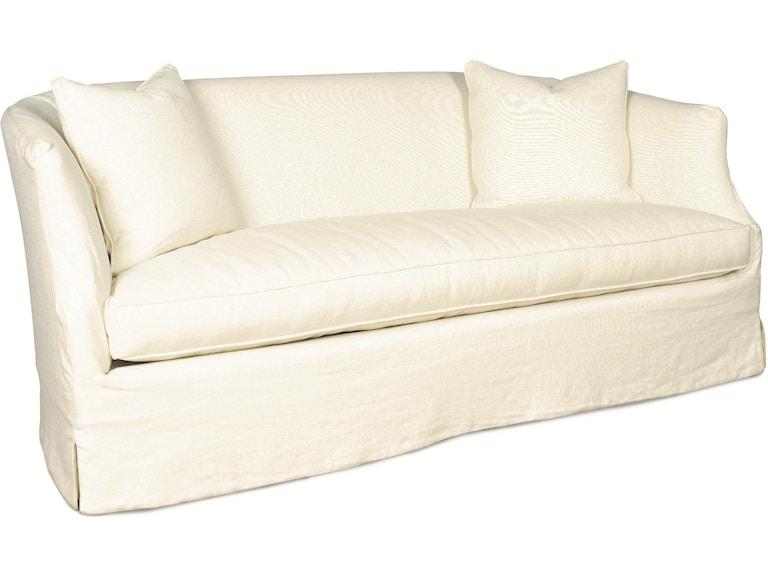 Lee Industries Living Room Slipcovered Apartment Sofa C3009 11 Meg