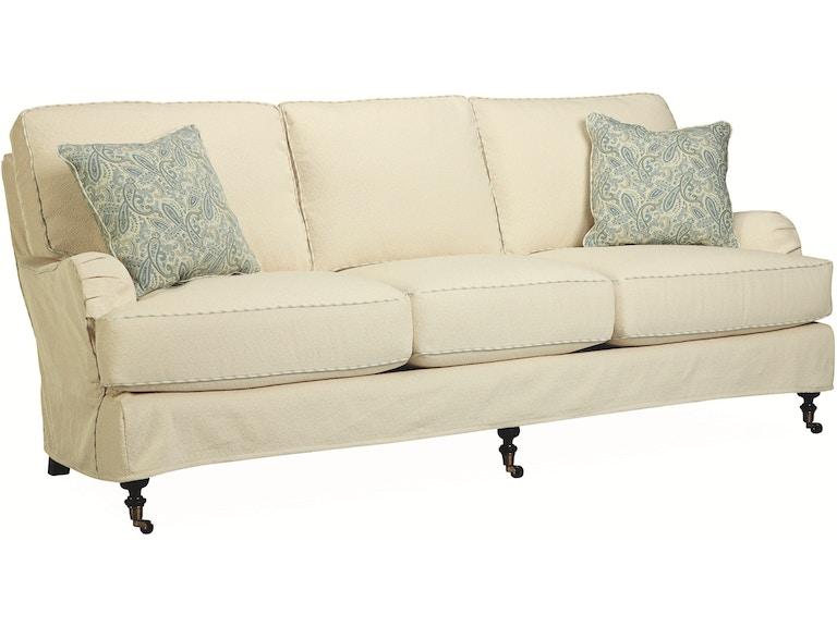 Lee Industries Living Room Slipcovered Sofa C3452 03 Archers