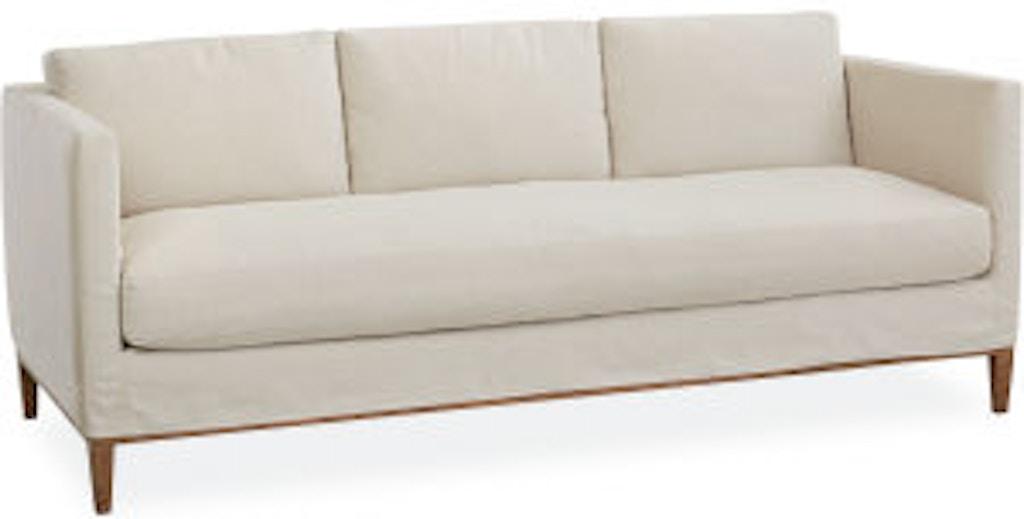 Lee Industries Living Room Slipcovered Sofa C3583 03