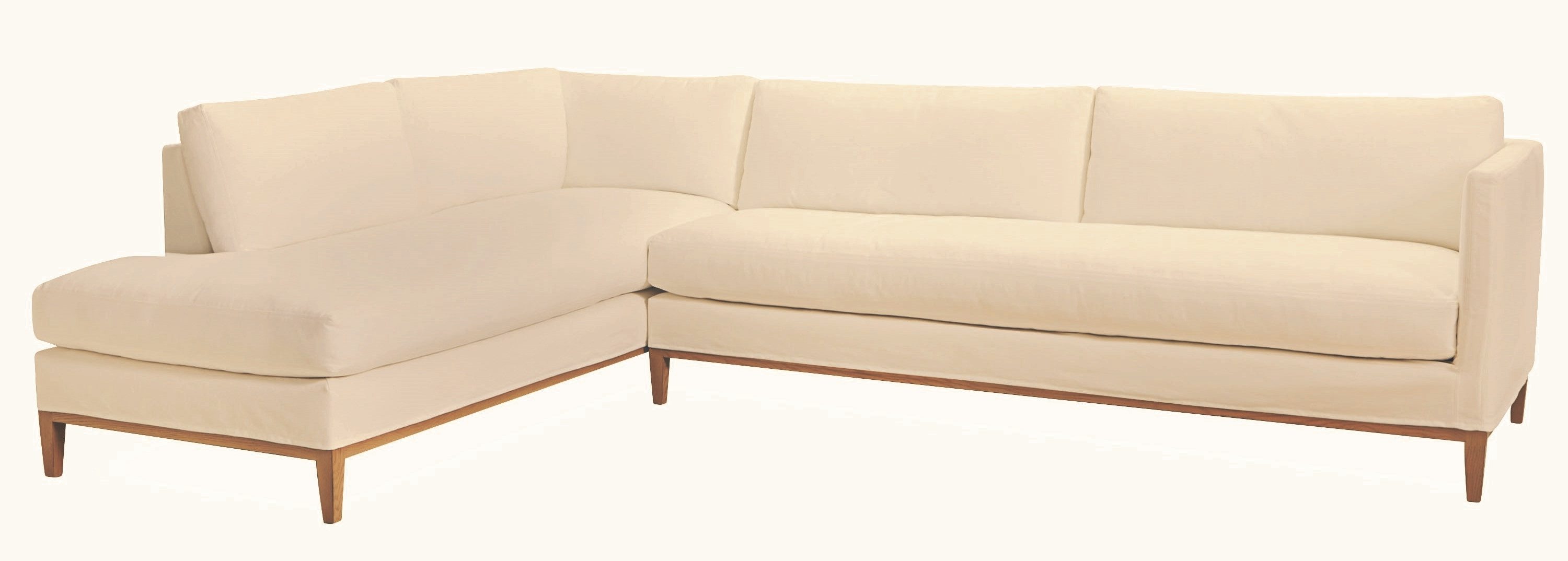 Lee Industries Slipcovered One Arm Sofa C3583 18RF