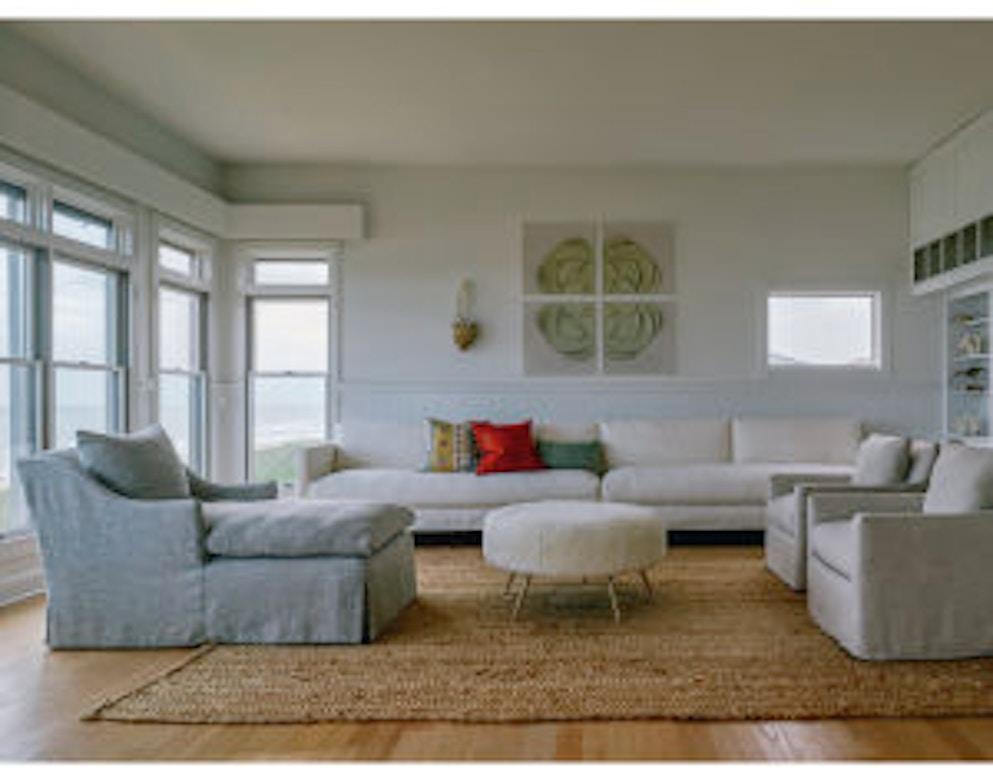 lee industries living room slipcovered swivel chair c1296 01sw