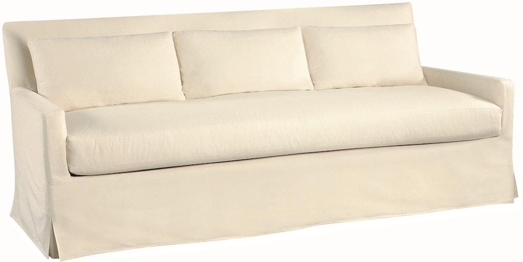 Lee Industries Living Room Slipcovered Sofa C3907 03 Klingman S