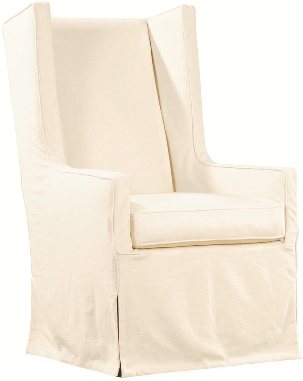 Lee Industries Living Room Slipcovered Host Chair C3915 41