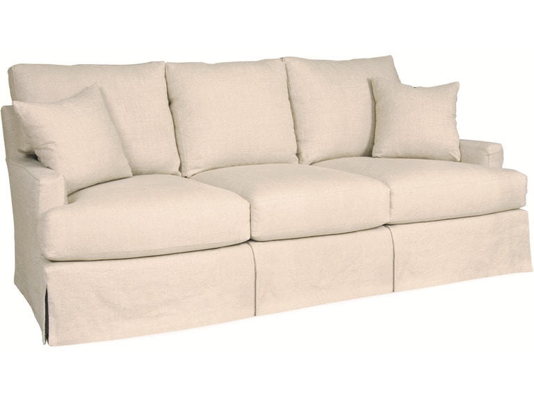Lee Industries Living Room Slipcovered Sofa C3972 03 Exotic Home