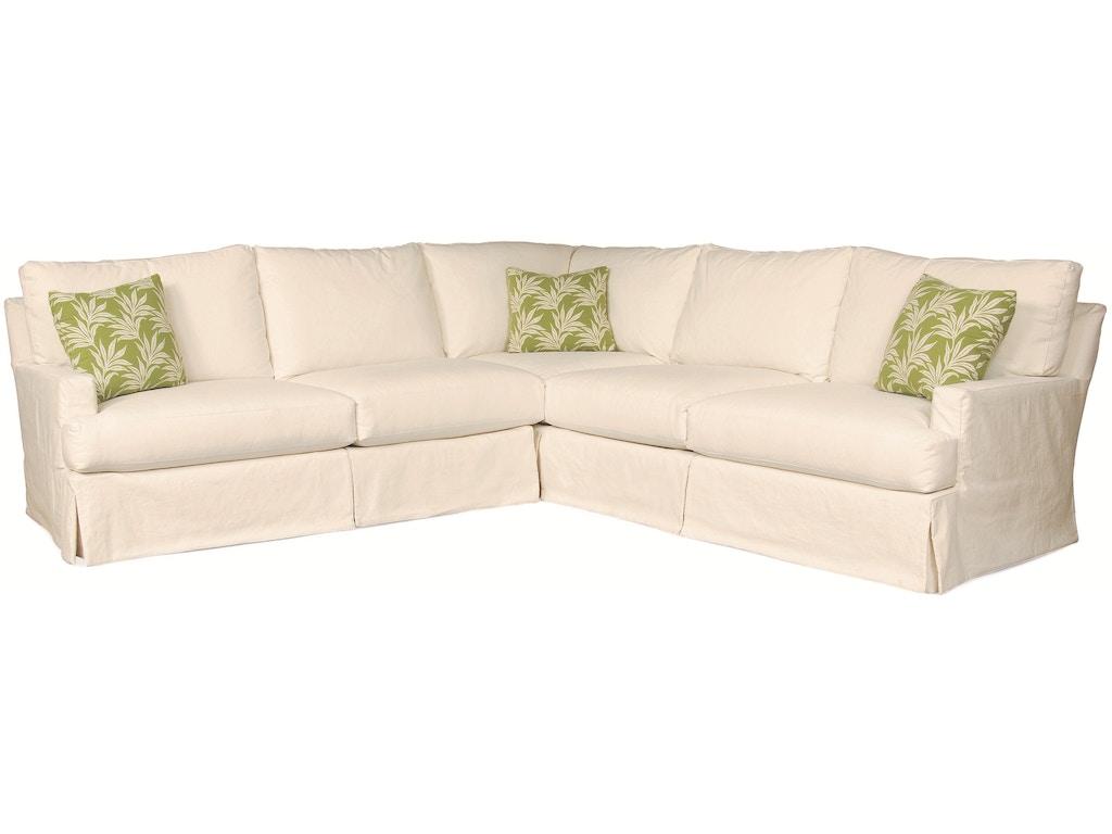 Lee Industries Slipcovered Sofa Furniture