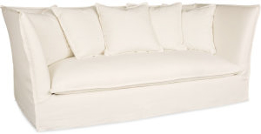 Lee Industries Living Room Slipcovered Sofa C3977 03 Exotic Home