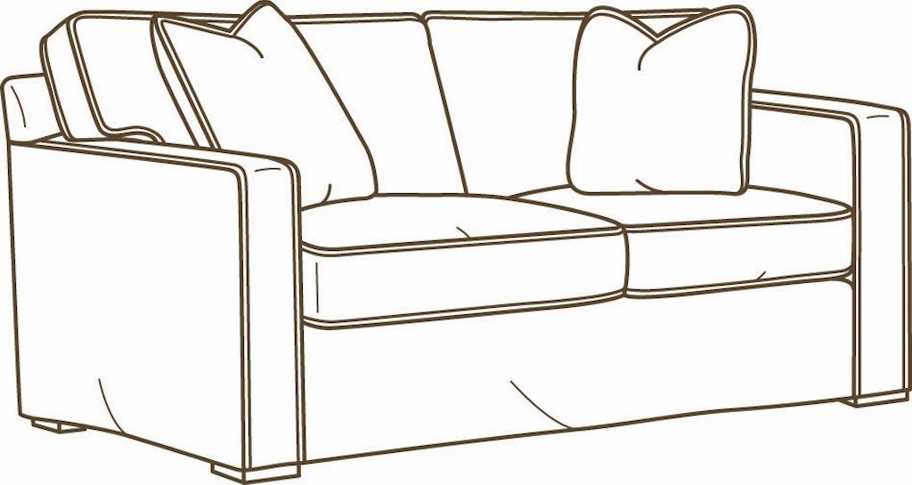 Surprising Lee Industries Living Room Slipcovered Loveseat C5285 02 Forskolin Free Trial Chair Design Images Forskolin Free Trialorg