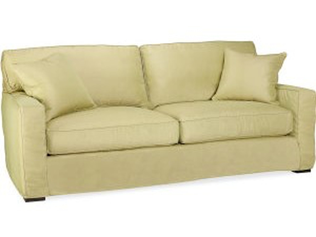 Lee Industries Living Room Slipcovered Sofa C5285 03