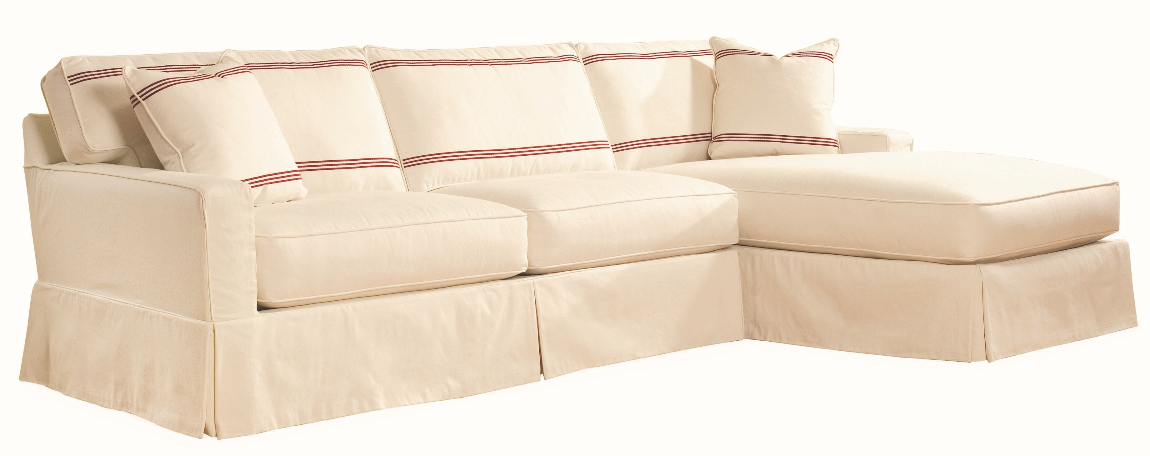Lee Industries Slipcovered Sectional Series C5287-Series  sc 1 st  Toms-Price : lee industries sectional price - Sectionals, Sofas & Couches
