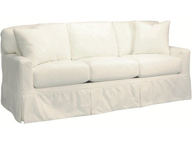 Lee Industries Living Room Slipcovered Sofa C5296 03