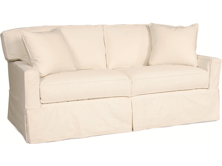 Lee Industries Living Room Slipcovered Apartment Sofa C5296 11 R W