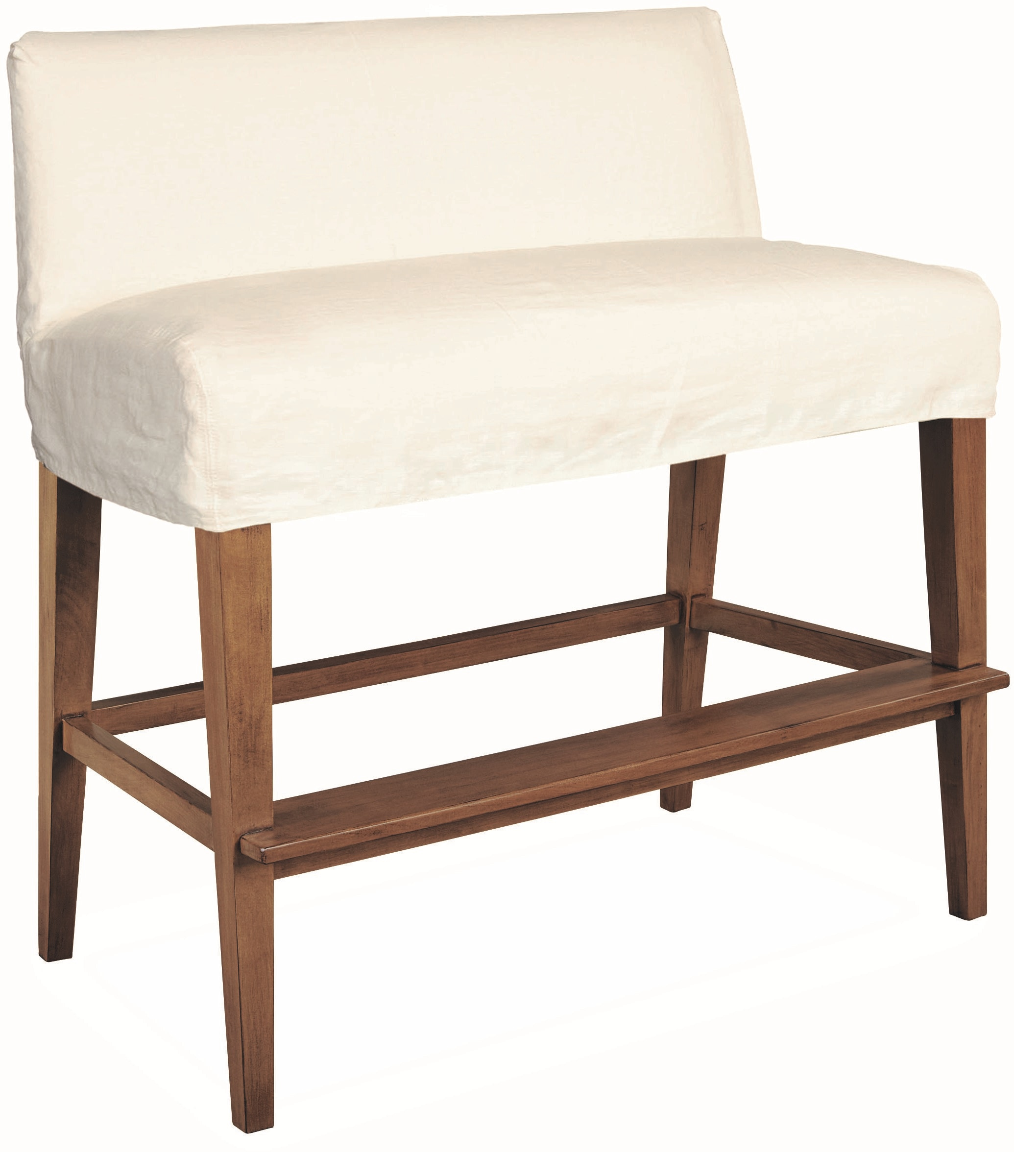 Lee Industries Bar And Game Room Slipcovered Dual Seat