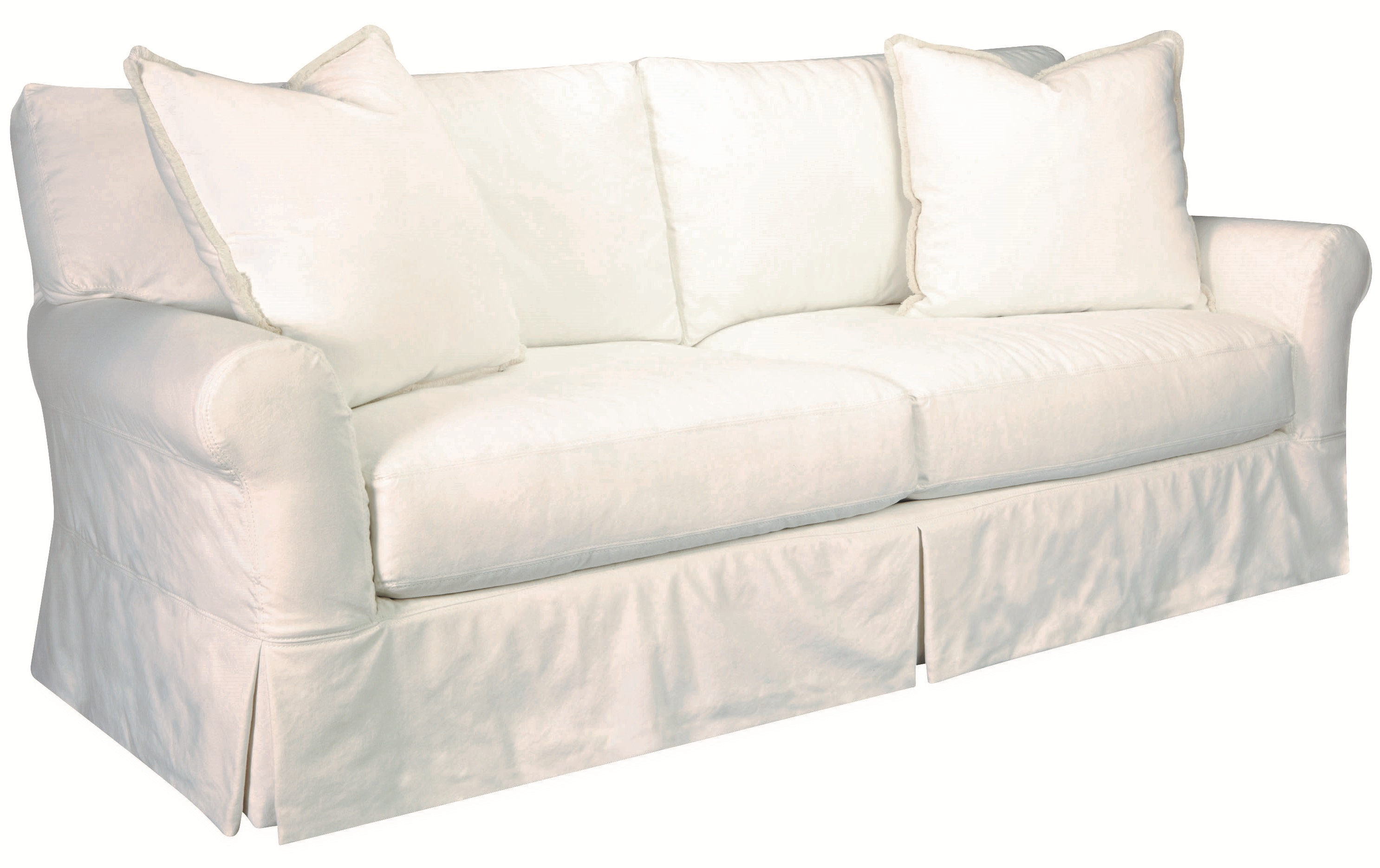 Slipcovered Sofa Trendy Mayfair Slipcovered Sofa With Chaise