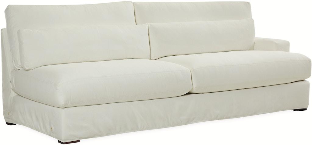 Lee Industries Living Room Slipcovered One Arm Sofa C7822 18rf