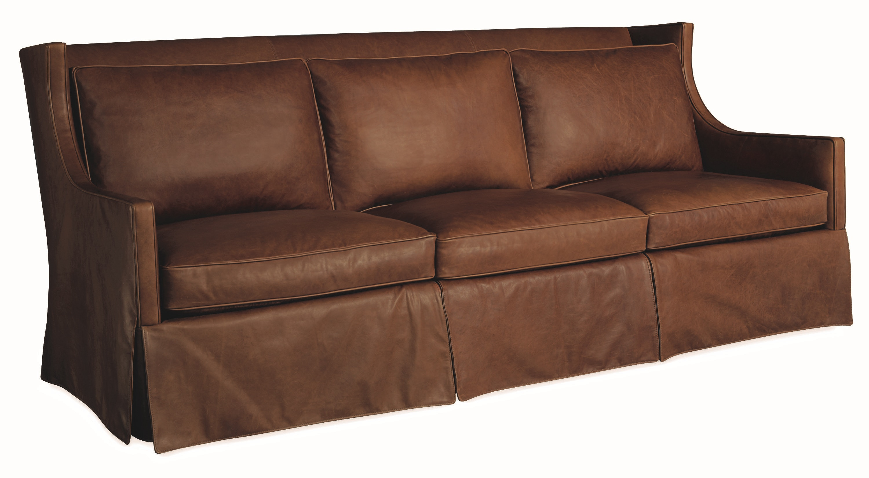 Lee Industries Leather Sofa L1011 03
