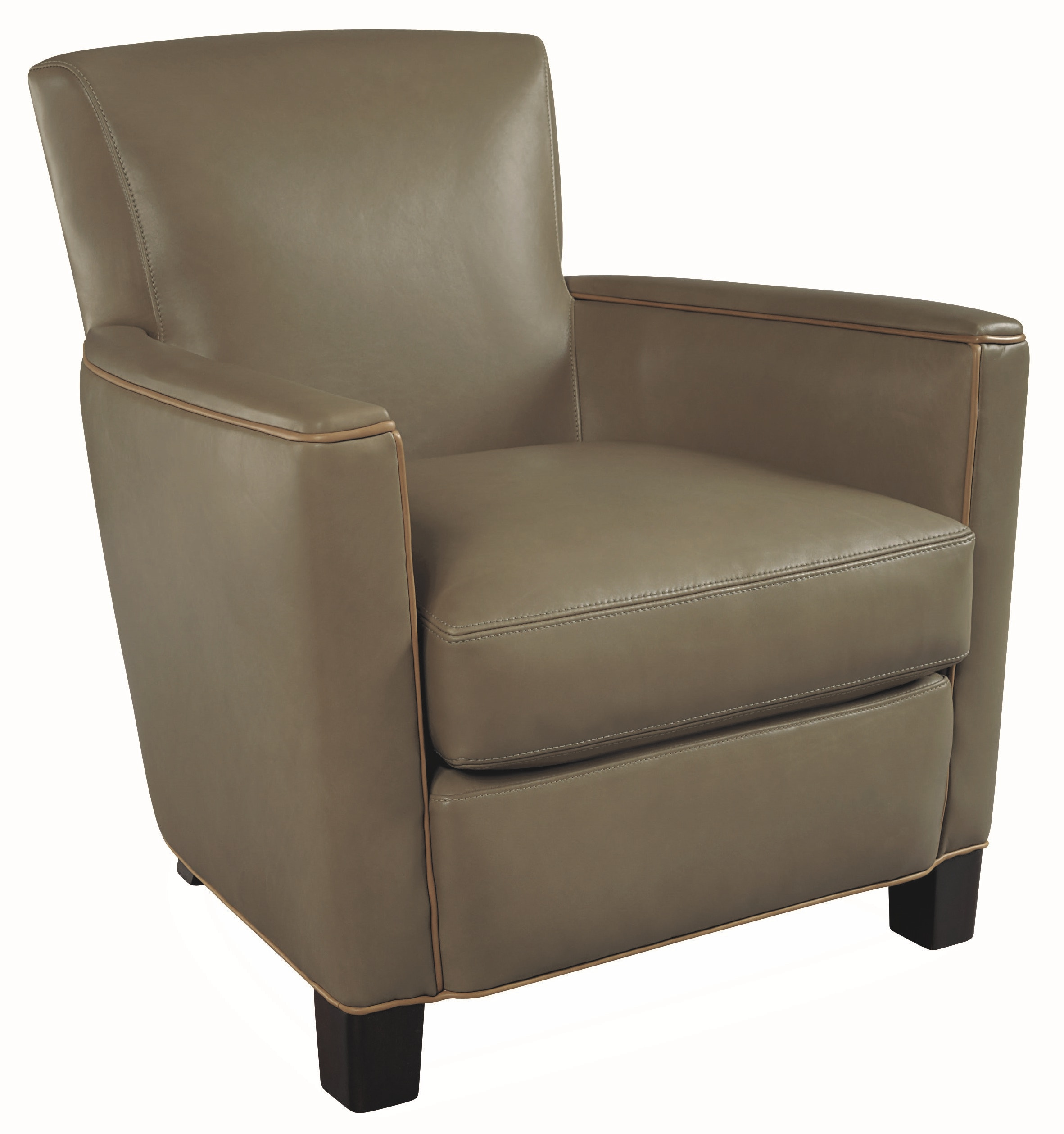 Lee Industries Leather Chair L1017 01
