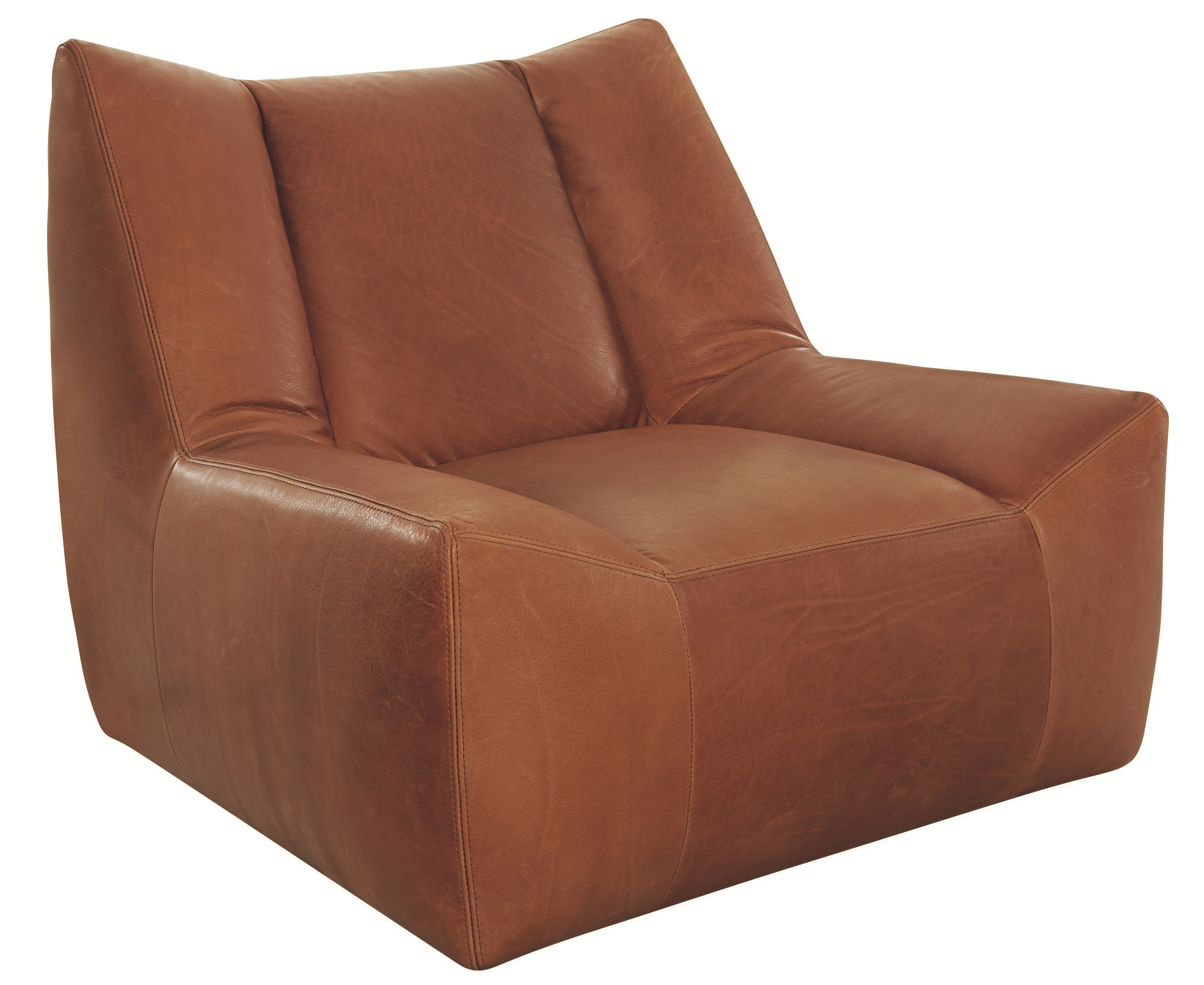 Lee Industries Leather Chair L1147 01
