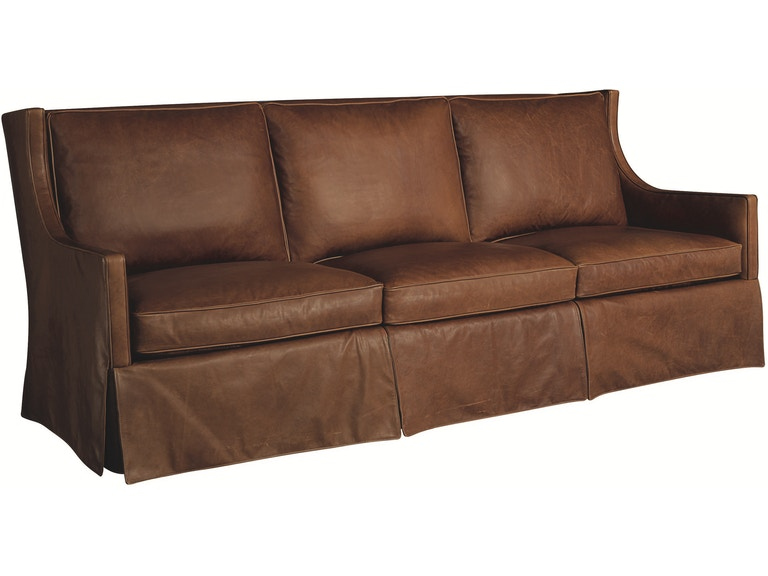 Lee Industries Leather Sofa L1211 03