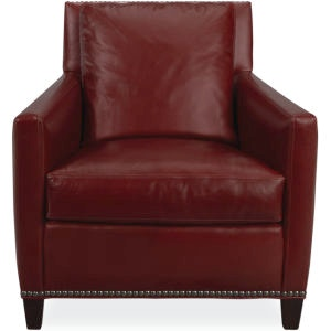 Lee Industries Leather Chair L1296 01