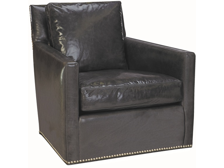 Lee Industries Living Room Leather Swivel Chair L1296-01SW ...