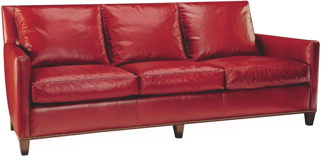 Lee Industries Living Room Leather Sofa L1296-03 - R W Design ...