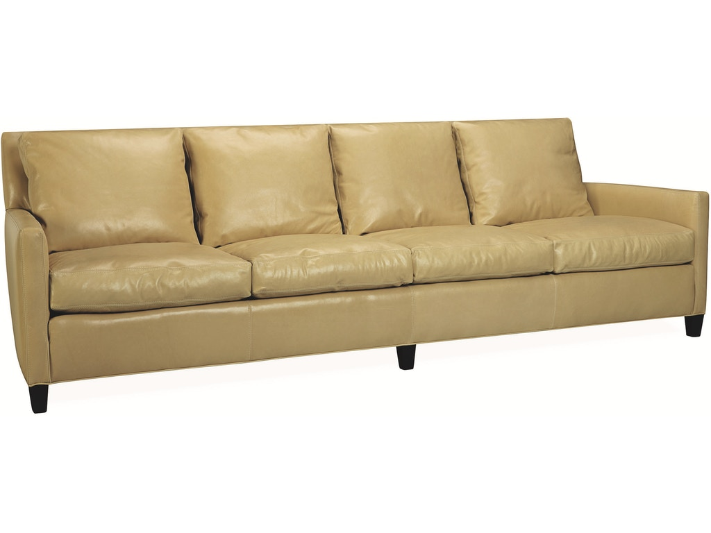 Lee Industries Living Room Leather Extra Long Sofa L1296