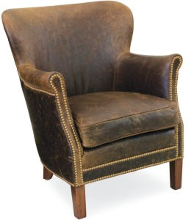 Lee Industries Leather Chair L1347 01