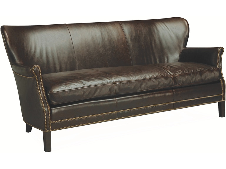 Lee Industries Living Room Leather Apartment Sofa L1347-11