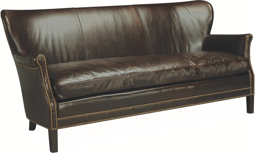 Lee Industries Living Room Leather Apartment Sofa L1347-11 ...
