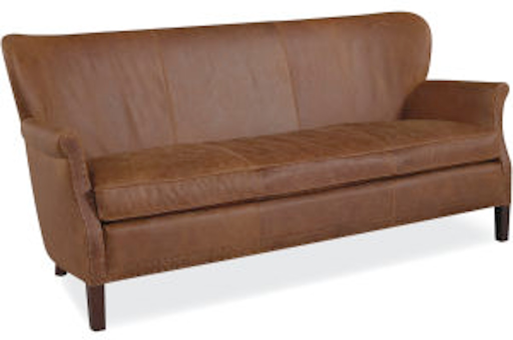Lee Industries Living Room Leather Apartment Sofa L1347-11 - Alyson ...