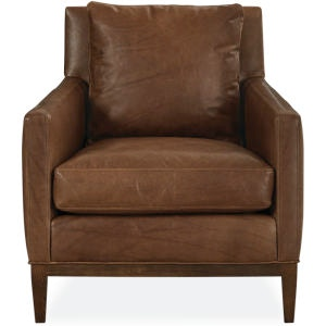 Lee Industries Leather Chair L1399 01