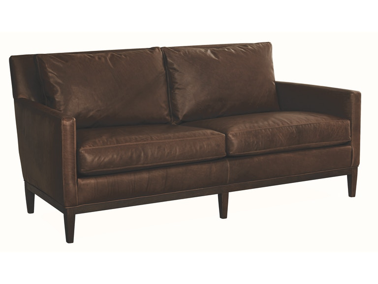 Lee Industries Leather Apartment Sofa L1399 11