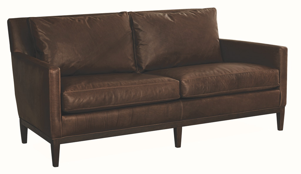 Lee Industries Living Room Leather Apartment Sofa L1399-11 ...