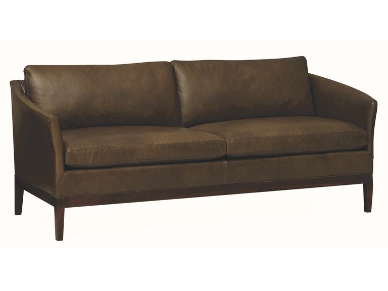 Lee Industries Living Room Leather Apartment Sofa L1423-11 - Meg ...
