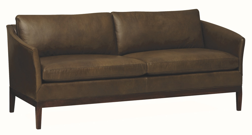 Lee Industries Living Room Leather Apartment Sofa L1423-11 ...