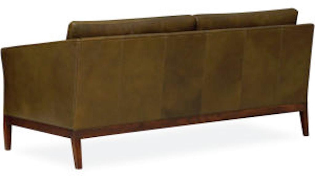 Lee Industries Living Room Leather Apartment Sofa L1423 11 Meg
