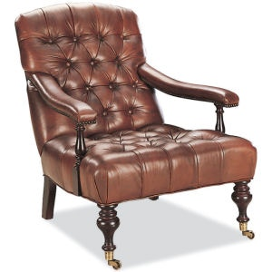 Lee Industries Leather Chair L1442 01