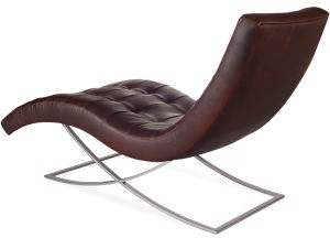 Lee Industries Living Room Leather Chaise L1549-21