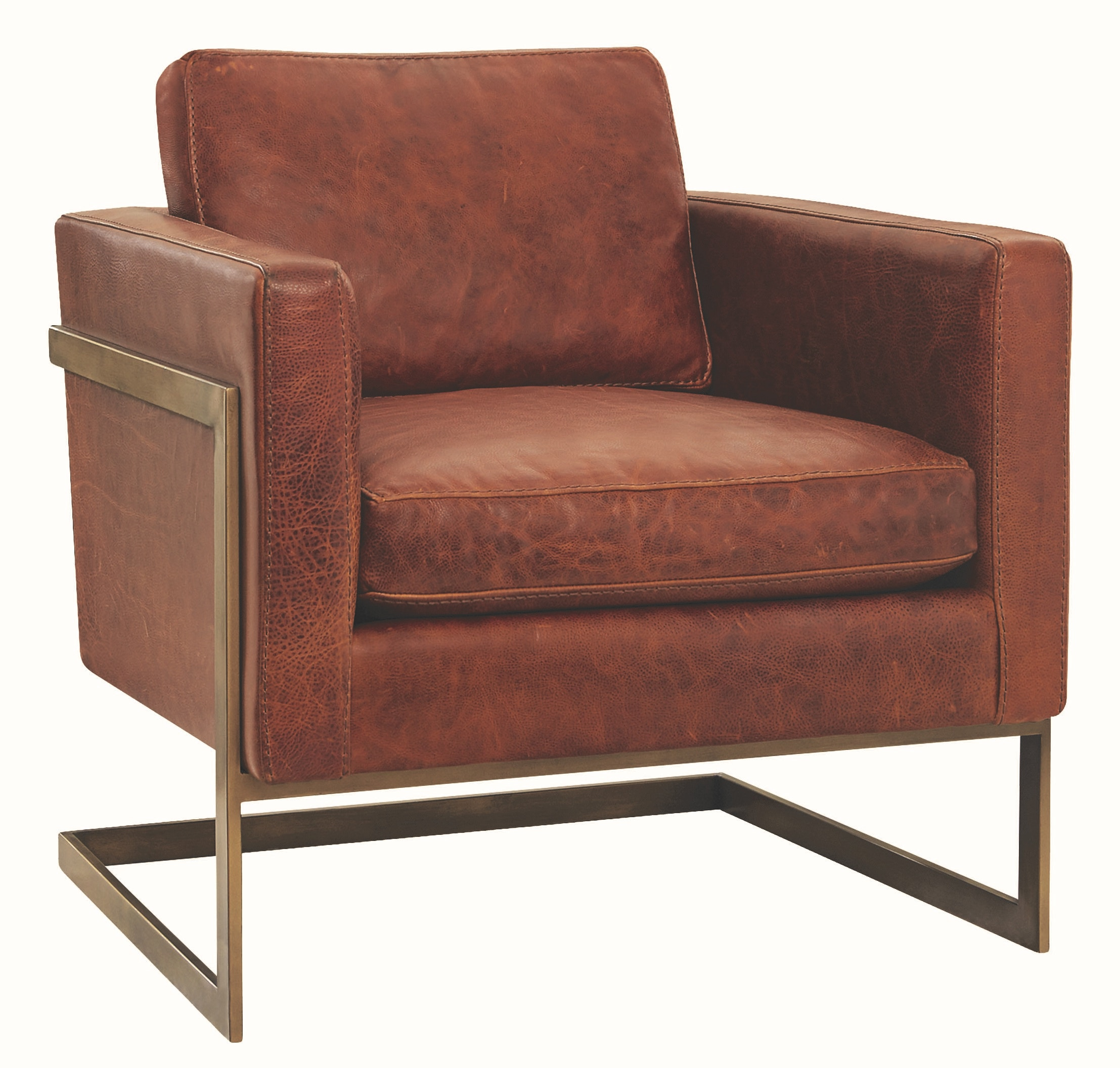 Lee Industries Leather Chair L1858 01