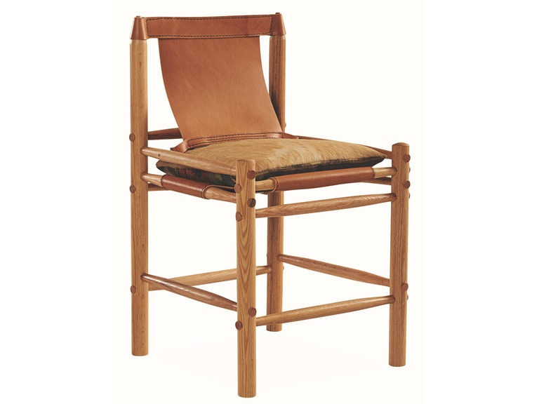 Lee Industries Bar And Game Room Leather Counter Stool