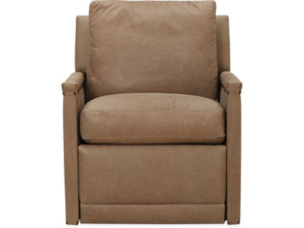 Living Room Chairs That Swivel Lee Industries Living Room Leather Relaxor Chair Swivel L1935 01rs