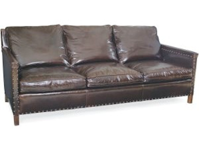 Lee Industries Living Room Leather Sofa L1935-03 - Exotic ...